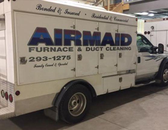 AirMaid's Vacuum Truck